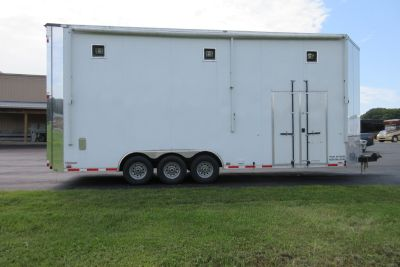 2014 Cargo Mate 26' Eliminator Lift Gate Trailer