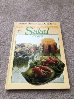 Better Homes and Gardens salad cookbook