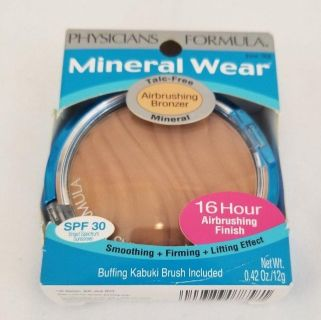Physicians Formula Mineral Wear Talc-Free Mineral Airbrushing Bronzer, 7858