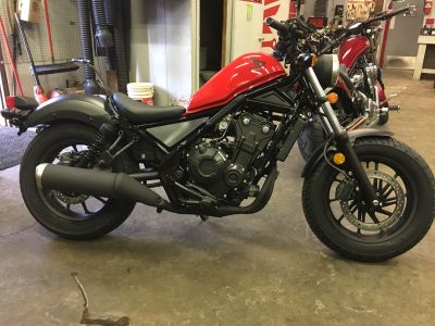 2018 Honda Rebel 500 Cruiser Motorcycles Crystal Lake, IL