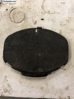 Beetle Trans Coupler Cover Plate with Screw Used