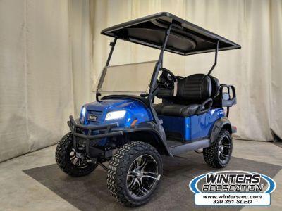 NEW 2019 Club Car Onward® 4 Passenger Electric Lifted Golf Cart, Blue
