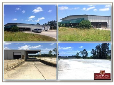 Highway 57 Warehouse/Office Building with Loading Docks- for Lease-Little River, SC.