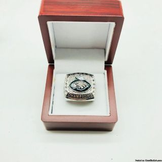 "NFL 2017 SUPER BOWL ""EAGLES"" MVP RING"
