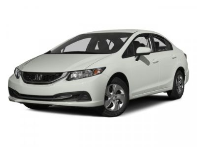 2015 Honda Civic LX (Taffeta White)