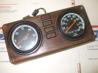Purchase 855 dash gauge motorcycle in Batesville, Arkansas, US, for US $100.00