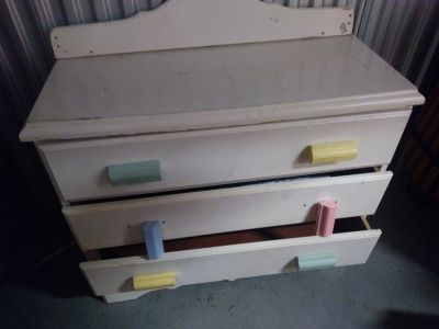 Welsh Company Baby Changing Table and Dresser