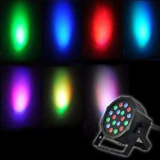 LED Stage or Party Lights. New DMX, sound activated, strobe