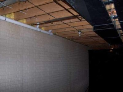 Exterior wall waterproofing solution