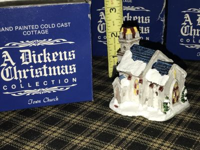 A Dickens Christmas collection Town church
