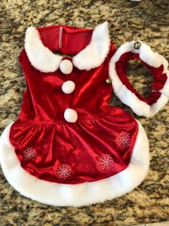 Santa Claus Christmas outfit two piece large
