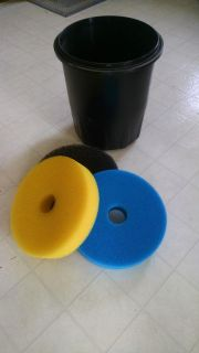 Alpine pond filter replacement foam set for Filter Models 2000 and 3000