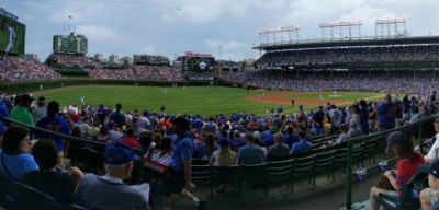 Cubs tickets 2 Amazing aisle seats with a perfect view