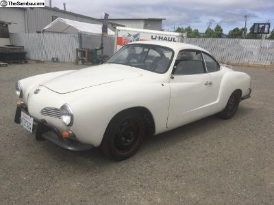 1968 Ghia Coupe solid project with 1776