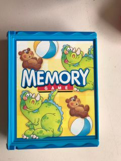 Memory Game in storage box