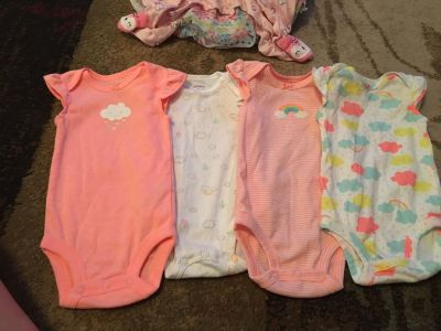 Set of 4 carters 3m onesie - ppu (near old chemstrand & 29) or PU @ the Marcus Pointe Thrift Store (on W st)