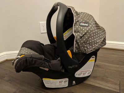 Chicco Keyfit 30 system (car seat, 2 bases, stroller caddy)