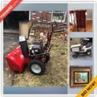 Burlington Downsizing Online Auction - Marjorie Road