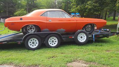 71 Challenger Drag Car ROLLER NO TITLE