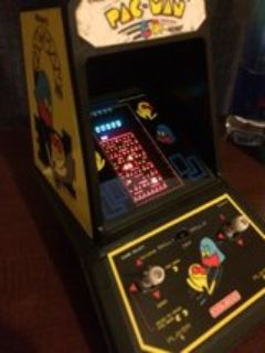 Vintage 1981 Coleco Pac~Man mini Arcade by MIDWAY