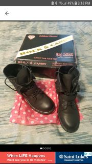 60 BRAND NEW IN BOX - NORDSTROM RACK - Rock & Candy Black Boots - size 8.5 8 1/2 - NEVER WORN