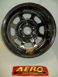 "Sell Aero 52-985020BLK Black Chrome Wheel 5 on 5"" 15x8 2"" Offset imca ump modified motorcycle in High Ridge, Missouri, United States, for US $119.00"