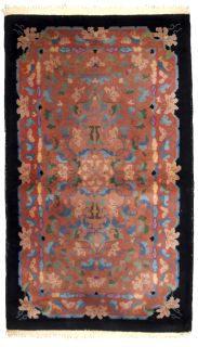 Handmade antique Art Deco Chinese rug, 1B636