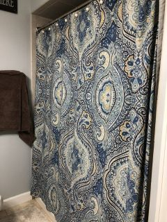 Pottery barn Shower curtain