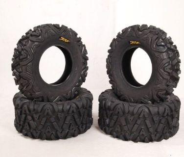 Buy NEW PROMOTION!Set of 4 New ATV Tires AT 25x8-12 Front & 25x10-12 Rear /6PR motorcycle in El Monte, California, United States, for US $234.77