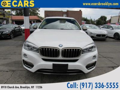 2015 BMW X6 RWD 4dr sDrive35i (White)