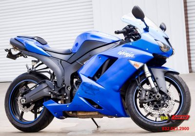 2008 Kawasaki Ninja ZX -6R SuperSport Motorcycles Houston, TX