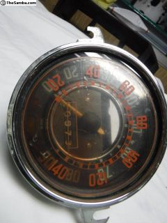 68 only Speedometer with Kilometer Sticker