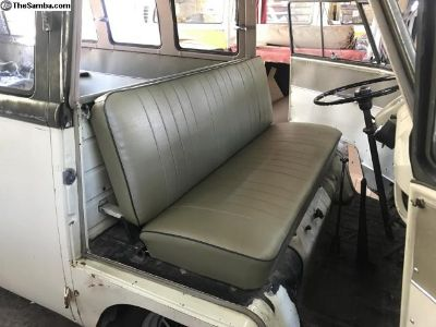 High Quality Repro PGSG Green 55-58 Seat Covers