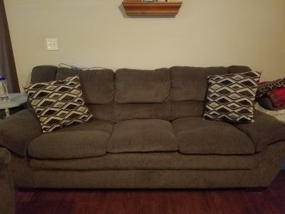 Couch, love seat and matching coffee table. 6 months old.