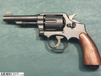 For Sale: Smith and Wesson WWII Victory Revolver 38 cal