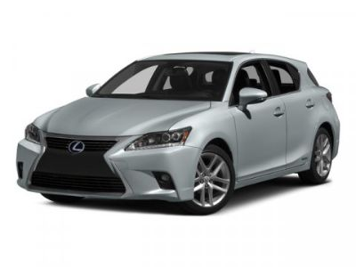 2015 Lexus CT 200h Base (Silver Lining Metallic)