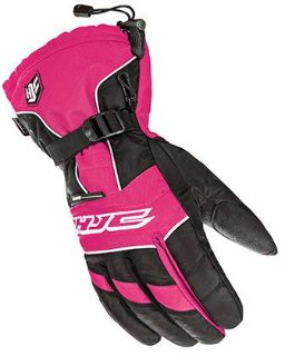 Purchase HJC 15 Ladies Storm Pink/Black Waterproof Insulated Snowmobile Riding Glove motorcycle in Golden, Colorado, United States, for US $44.99