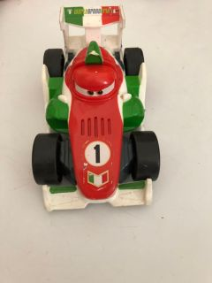 Disney car race car shake and go car