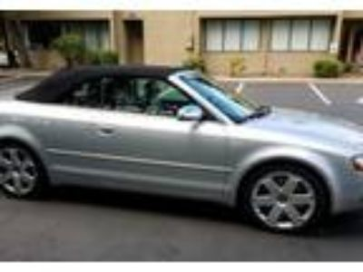 2005 Audi S4 Convertible in Issaquah, WA