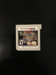 Dragon ball z Extreme Butoden 3DS game