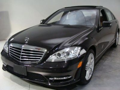 2013 Mercedes-Benz S-Class S550 4MATIC (Magnetite Black Metallic)