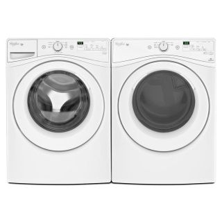 Whirlpool Front Load Washer and Dryer Set WFW75HEFW/WED75HEFW