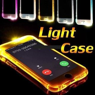 LED Light Up Call RemindeI IncomingCall Soft TPU Case Cover iPhone 7 Plus/8 Plus, X Wholesale