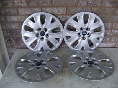 """Buy 2013 2014 2015 OEM SET OF 4 16"""" FORD FUSION WHEEL COVERS HUB CAPS NEW TAKE OFFS motorcycle in McAllen, Texas, United States, for US $109.95"""