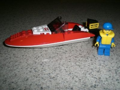 Lego #4641 City Speed Boat