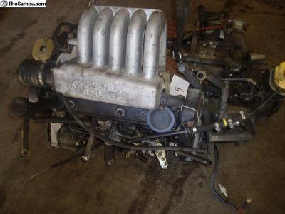 VW Eurovan 2.4 NA Diesel used complete engines.