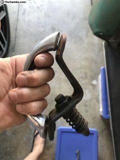 Early hood latch and handle