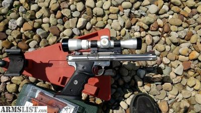 For Sale: Ruger MKIII Hunter with extras