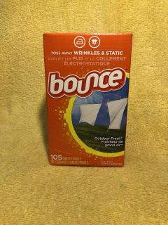 New Bounce Dryer Sheets