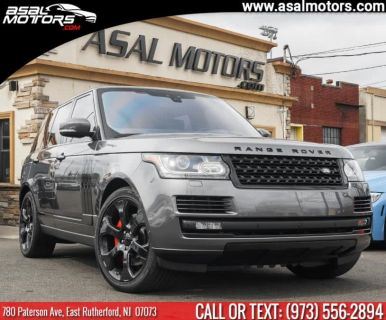 2017 Land Rover Range Rover V8 Supercharged Autobiography (Carpathian Grey)
